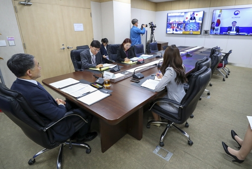 韩中日卫生部长开视频会议共商抗疫