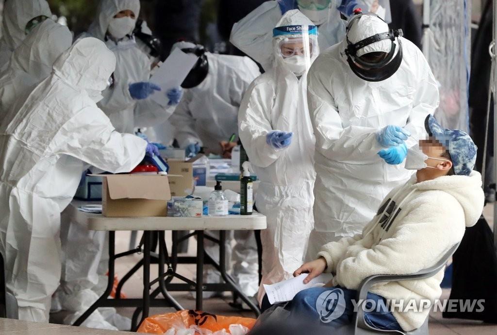 详讯:韩国新增13例新冠确诊病例 累计11050例