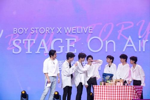 韩国食品亮相男团BOY STORY演唱会备受关注