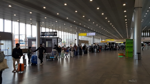 239名旅俄韩侨搭乘特别航班回国 韩国驻俄罗斯使馆供图(图片严禁转载复制)
