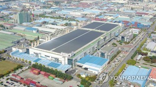 LG电子龟尾A3工厂 韩联社/LG电子供图(图片严禁转载复制)