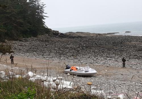 韩西海岸发现疑似中国偷渡船