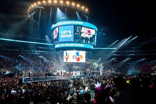 资料图片:2019年韩流庆典KCON现场照 Mnet供图(图片严禁转载复制)