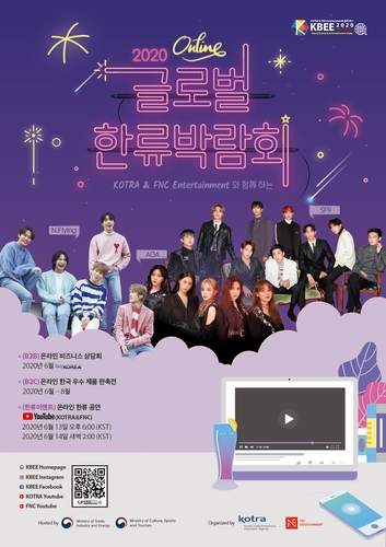 2020全球韩流博览会下周线上开幕