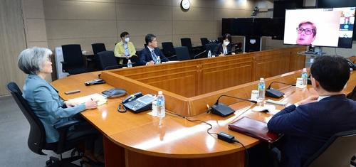 韩外长与五国外长在线开会讨论防控新冠疫情