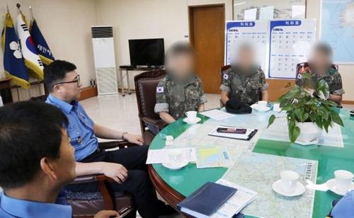 韩军警将加强海防杜绝偷渡
