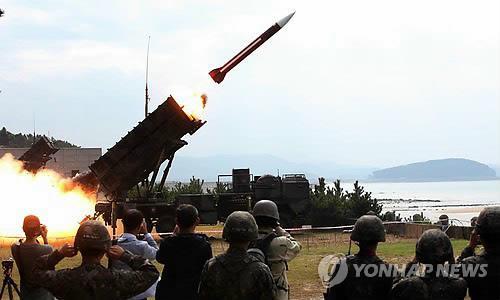 韩美实施联合反导演习