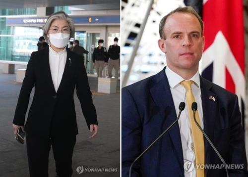 韩英外长通电话商讨抗疫脱欧等事宜