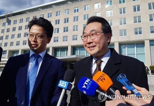 韩国对朝代表访美 或为协调对朝措施