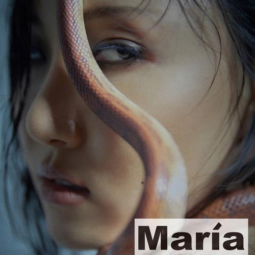 资料图片:MAMAMOO华莎新专辑《Maria》封面图 韩联社/RBW供图(图片严禁转载复制)