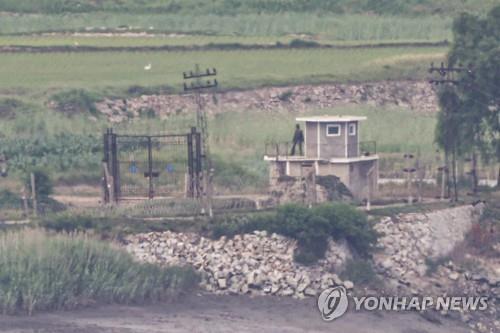 消息:朝军小股兵力不断进驻DMZ哨所