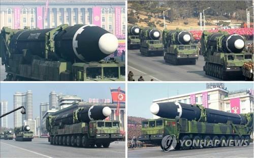 韩国防部:朝鲜正为建党75周年大阅兵做准备