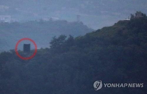 朝鲜重装对韩喊话设备 韩军正考虑对策