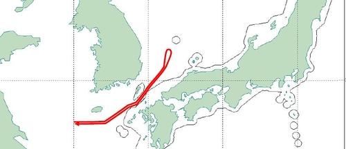 1架中国军机近日一度飞入韩国防识区