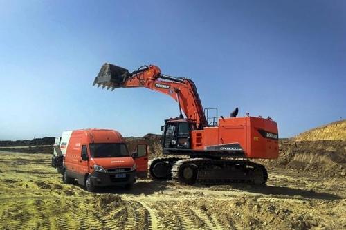 斗山挖掘机5月在华销量位居外企首位