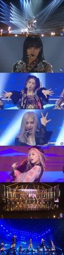 BLACKPINK出演美国王牌脱口秀公开新曲首舞台 YG娱乐供图(图片严禁转载复制)
