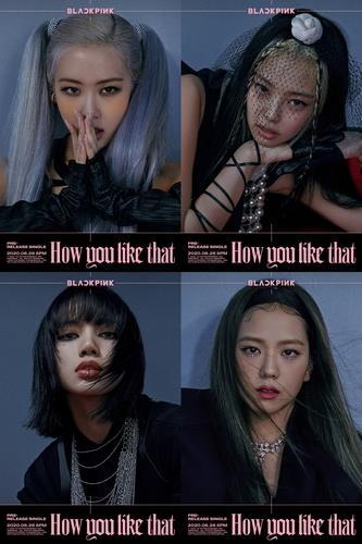 资料图片:BLACKPINK新歌预告图 YG娱乐供图(图片严禁转载复制)