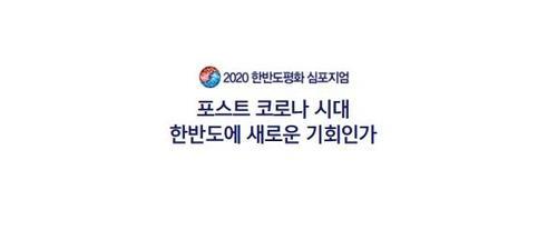 2020韩半岛和平研讨会海报 韩联社