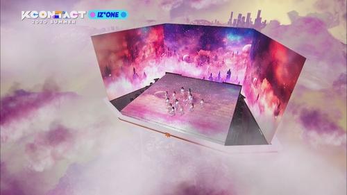 资料图片:KCON:TACT 2020 SUMMER 韩联社/CJ娱乐传媒供图(图片严禁转载复制)