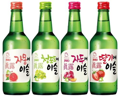 韩国真露烧酒今年上半年对华出口同比增58%