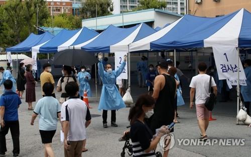 韩光州市群聚性感染病例持续增加