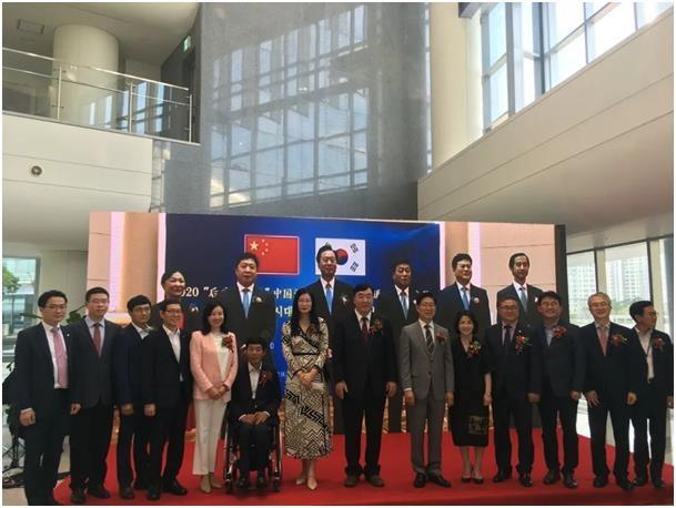 韩国忠南和中国辽宁守望交流展两地连线同步举行