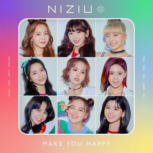 JYP娱乐新人女团NiziU连续两周登顶日本公信榜