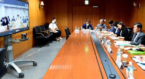 韩中司局级海域划界谈判在线举行