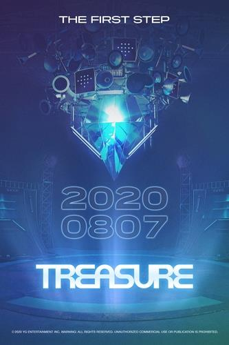 TREASURE出道预告海报 YG娱乐供图(图片严禁转载复制)