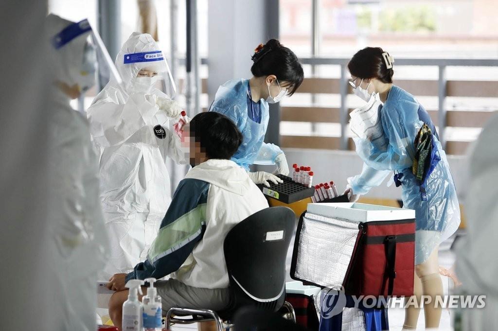 简讯:韩国新增41例新冠确诊病例 累计13979例