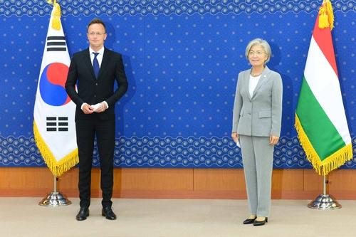 韩匈外长在首尔会晤讨论双边合作
