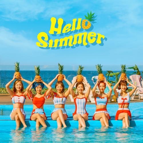 April夏季特辑《Hello Summer》 韩联社/DSP Media供图(图片严禁转载复制)