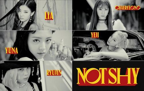 女团ITZY下月携新歌《Not Shy》回归