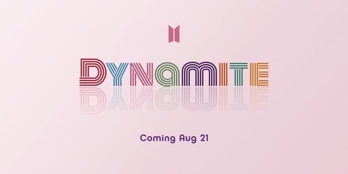 防弹少年团英文新歌定名《Dynamite》