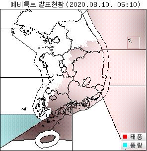 """资料图片:今年第5号台风""""蔷薇""""路径预告图 韩国气象厅供图(图片严禁转载复制)"""