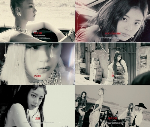 《Not Shy》预告照 韩联社/JYP娱乐供图(图片严禁转载复制)