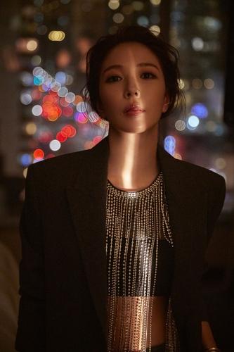 资料图片:歌手宝儿 韩联社/SM娱乐供图(图片严禁转载复制)