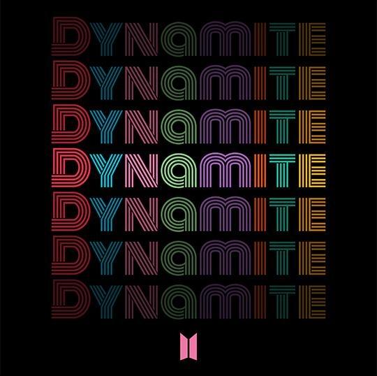 防弹少年团《Dynamite》封面 Big Hit娱乐供图(图片严禁转载复制)