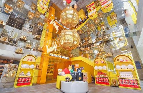韩卡通品牌Kakao Friends登陆上海