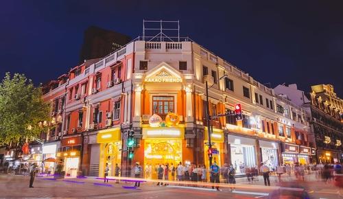 Kakao Friends上海首家门店 Kakao IX供图(图片严禁转载复制)