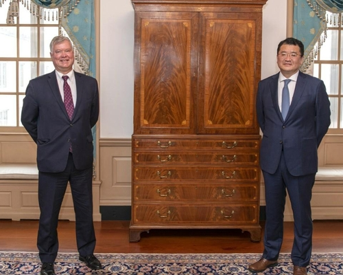 韩国副外长崔钟建会晤美国副国务卿比根