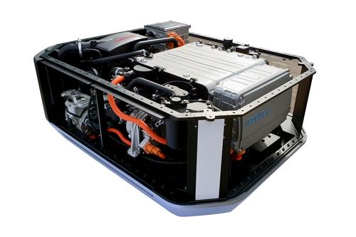 现代汽车首次出口氢燃料电池