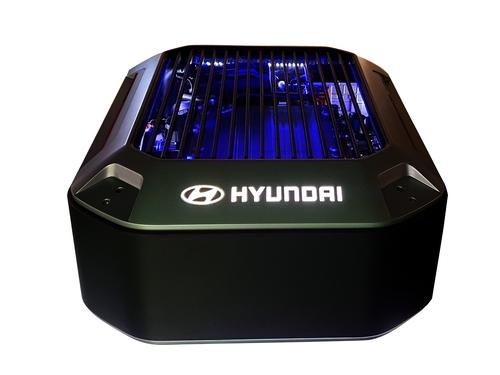 资料图片:现代汽车氢燃料电池 现代汽车供图(图片严禁转载复制)