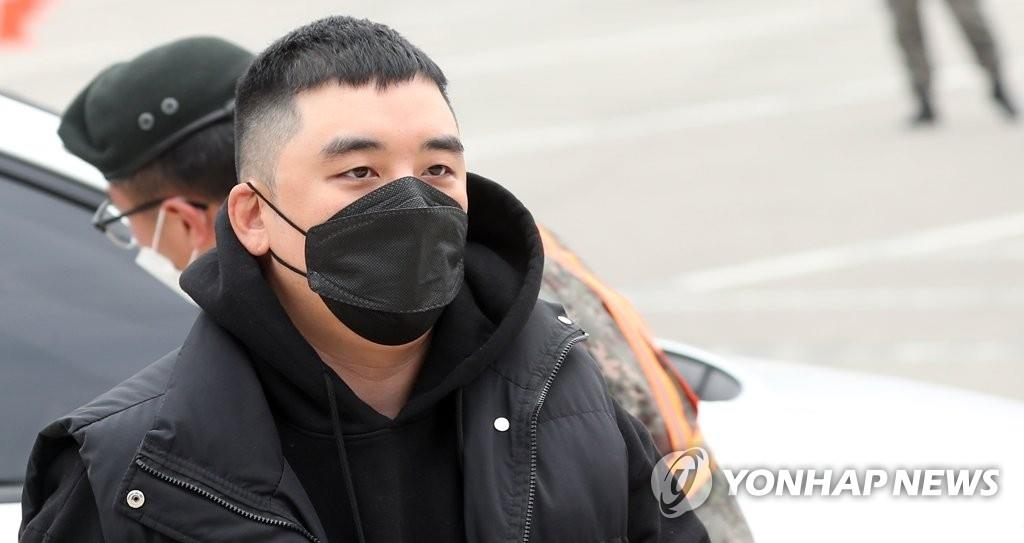 资料图片:BIGBANG前成员胜利 韩联社