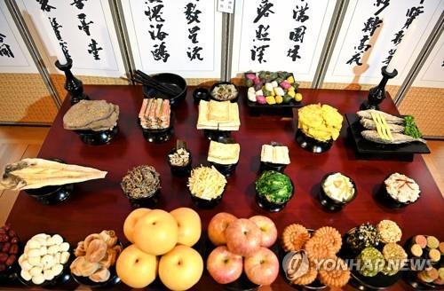 韩国中秋祭品同比涨5.3% 置办费近1600元