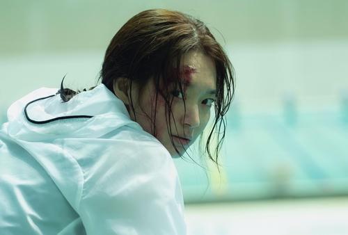 资料图片:韩影《DIVA》剧照 韩联社/MEGABOX中央PLUS M供图(图片严禁转载复制)