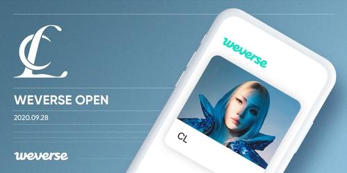 歌手CL入驻粉丝交流平台Weverse