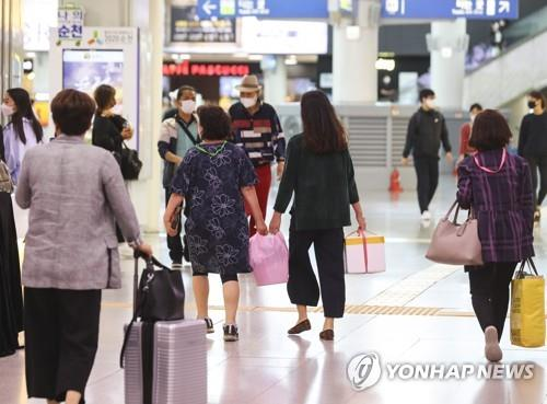 韩防疫部门吁民众中秋少团聚配合防疫