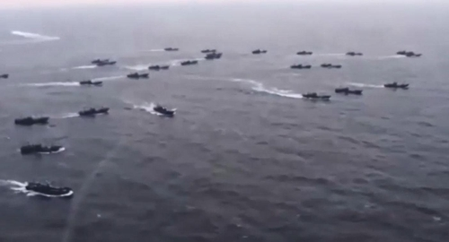 韩海警将使用班组武器应对非法捕捞