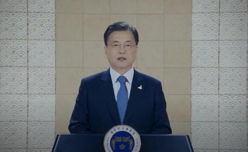 文在寅呼吁韩美共促终战宣言共建伟大同盟